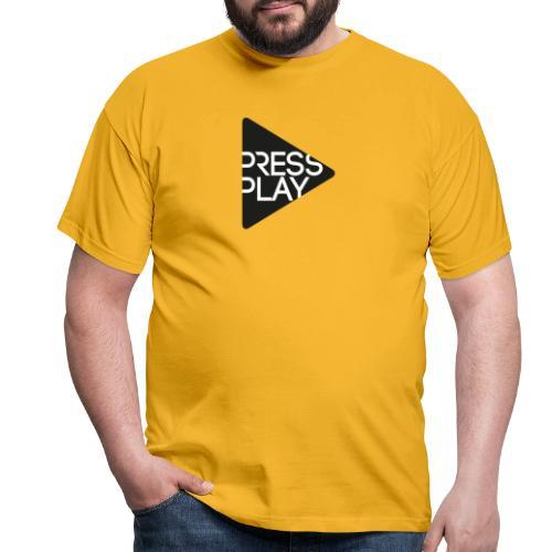 PressPlay logo - Men's T-Shirt