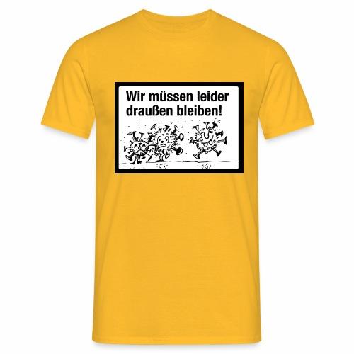 Corona 1 - Männer T-Shirt