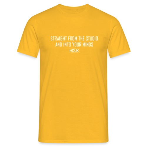 The HDUK Podcast - Straight from the Studio - Men's T-Shirt