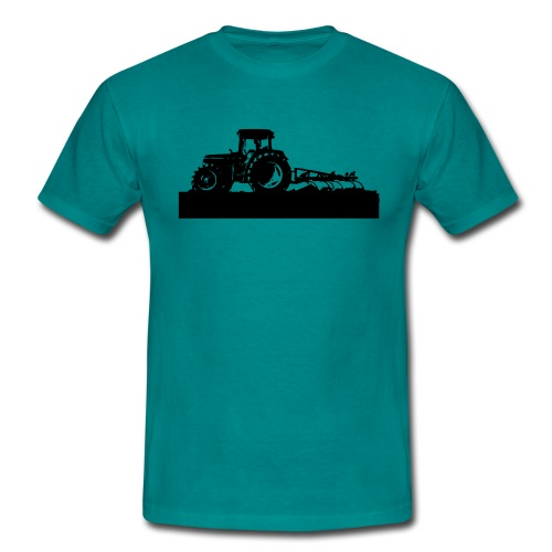 Tractor with cultivator - Men's T-Shirt