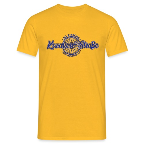 AG Rikscha - Kavaliere - Männer T-Shirt