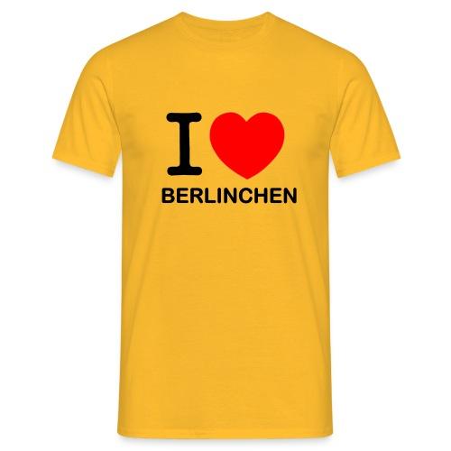 I love Berlinchen - Männer T-Shirt