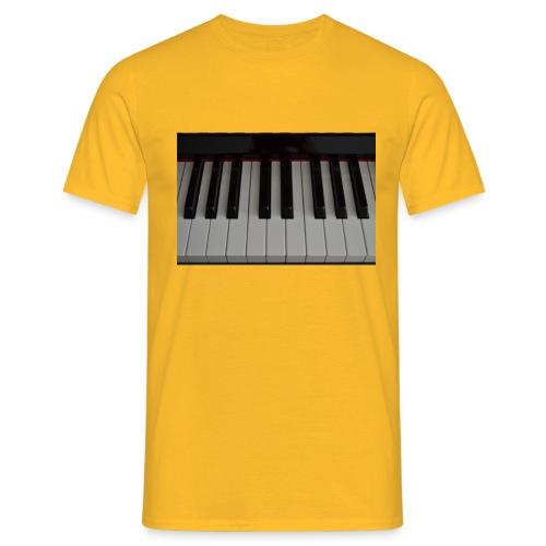 Piano - Mannen T-shirt