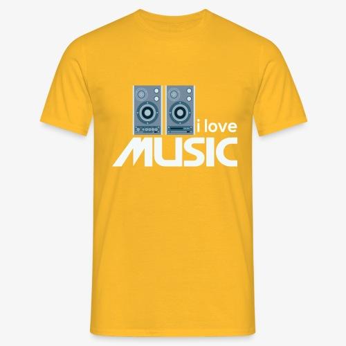 Amo la música 02 - Camiseta hombre