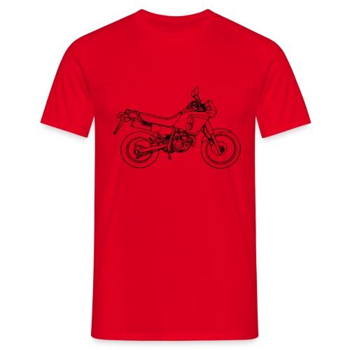 NX250 zijaanzicht zwart - Mannen T-shirt