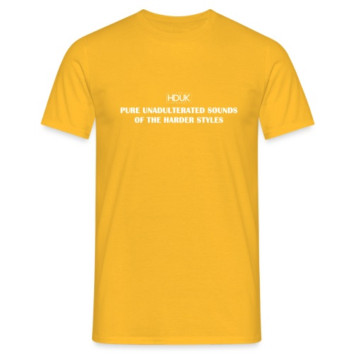 The HDUK Podcast - Pure Unadulterated - Men's T-Shirt