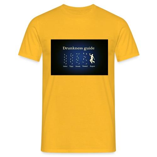 DRUNK - Mannen T-shirt