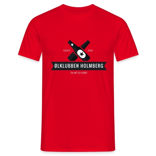 Øl-forkle - T-skjorte for menn