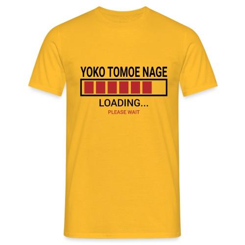 Yoko Tomoe Nage Loading... Pleas Wait - Koszulka męska