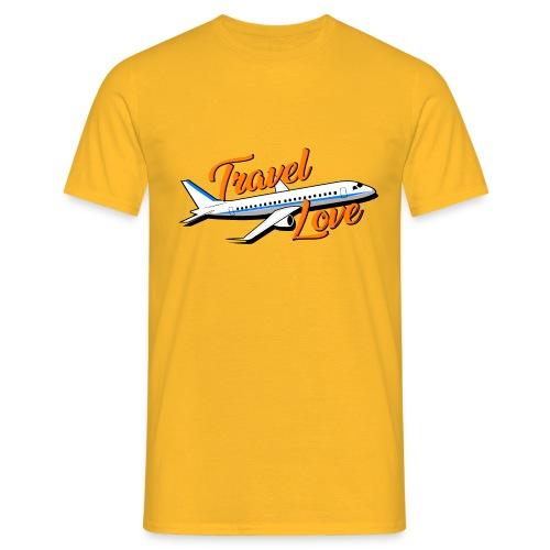 Travel love Air - Camiseta hombre