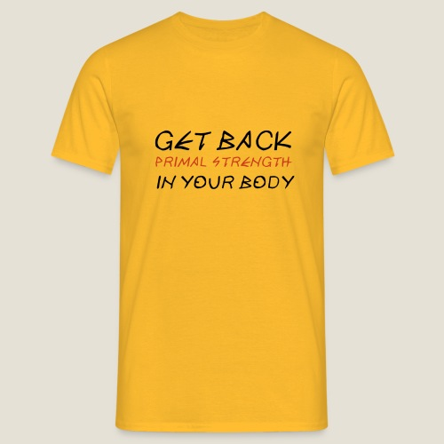 Get Back semi hd - T-shirt Homme