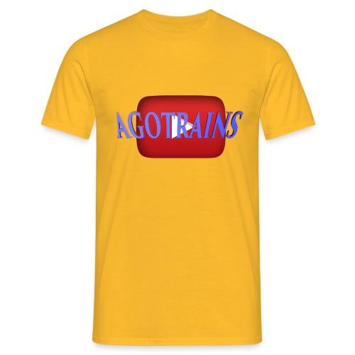 AGOTRAINS - Maglietta da uomo