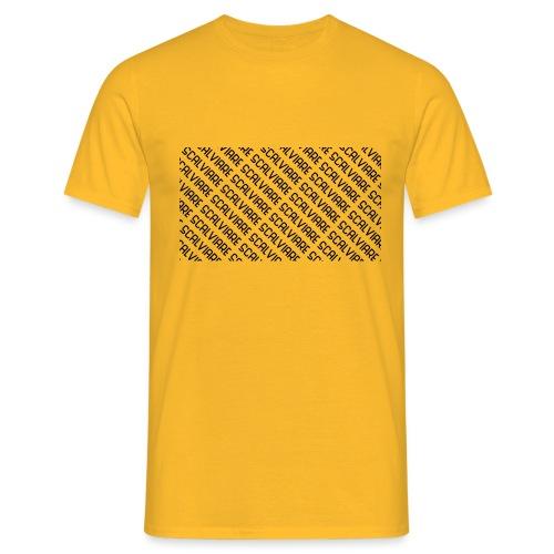 Scalviare Messy - Männer T-Shirt