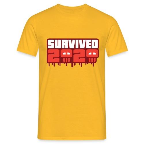 Survived 2020 - Herre-T-shirt