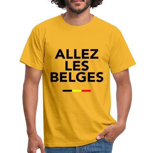 allez les Belges! - T-shirt Homme