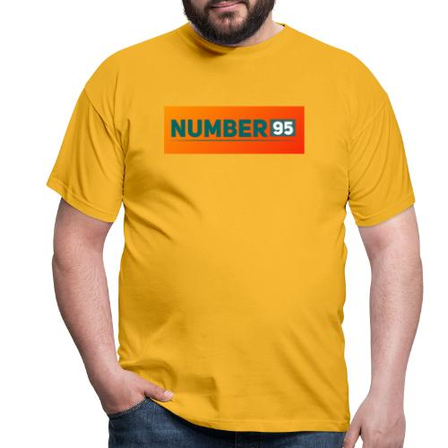 Number 95 - Farbenspiel - Männer T-Shirt
