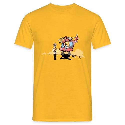 YNWA Sauna helikopter - T-skjorte for menn