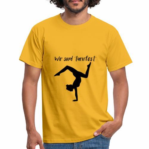wir sind turnfest - Männer T-Shirt