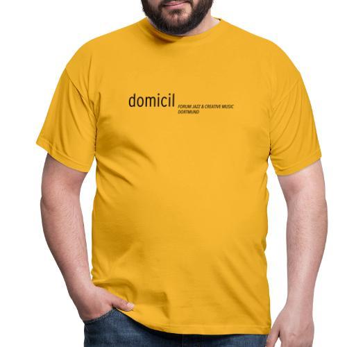 domicil Dortmund schwarz - Männer T-Shirt