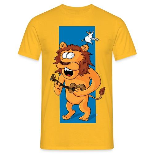 L'ours-lion et l'oiseau - T-shirt Homme