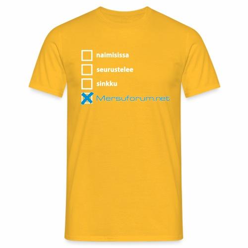 naimisissa mersuforum - Miesten t-paita