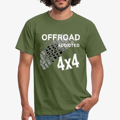 Defender Land-Rover OFF Road White - Männer T-Shirt
