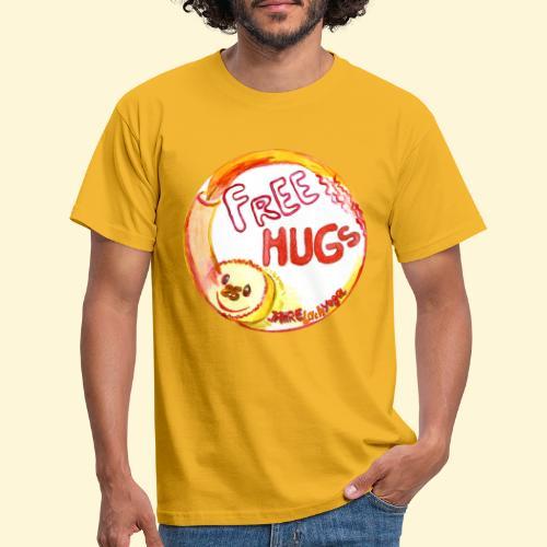 Free Hugs - 25 Jahre Lachyoga - Männer T-Shirt