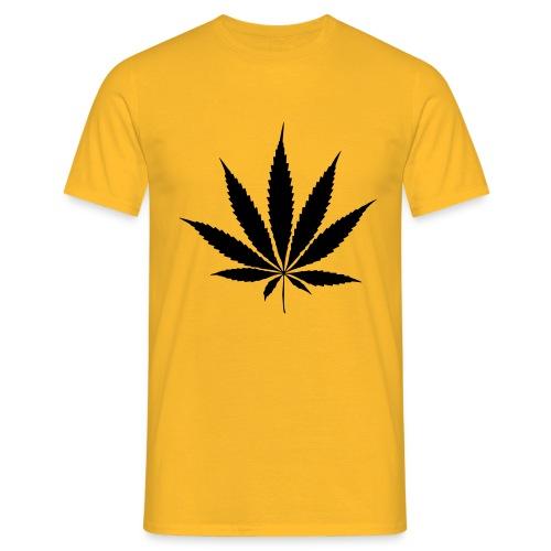 Weedblatt - Men's T-Shirt