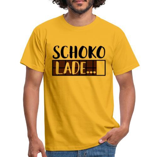 Schokolade Ladebalken Nerd Weihnachtsgeschenk - Männer T-Shirt