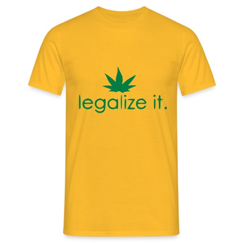 LEGALIZE IT! - Men's T-Shirt