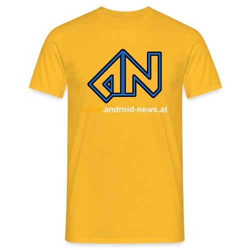 Android News Weiss - Männer T-Shirt
