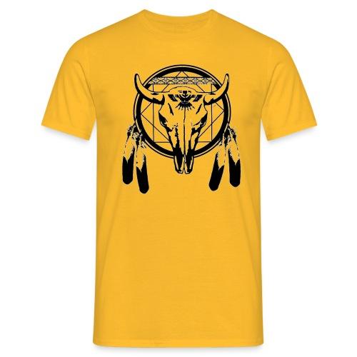 bull skull - Männer T-Shirt