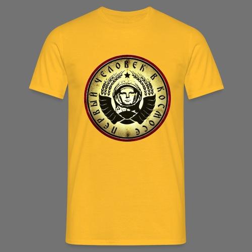 Cosmonaut 4c retro - Men's T-Shirt