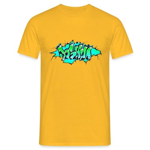 GRAFFITI JOSHUA PRINTABLE WALL BROKE - T-shirt Homme