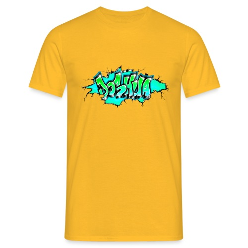 GRAFFITI JOSHUA PRINTABLE WALL BROKE - T-shirt Homme