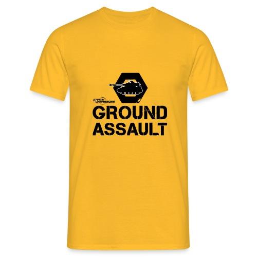 GA Panzer und Schrift Logo - Männer T-Shirt