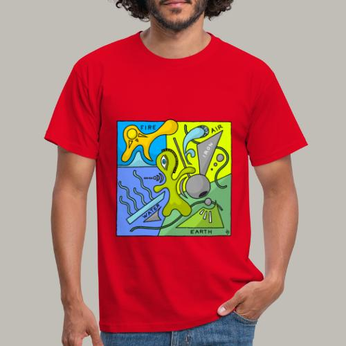Earth 4 éléments - T-shirt Homme