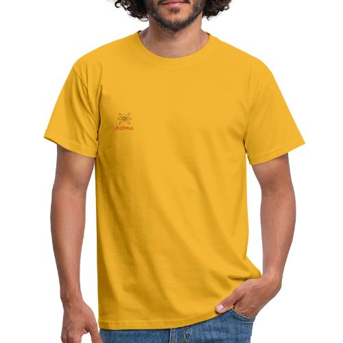 l'atôme en rouge - Männer T-Shirt