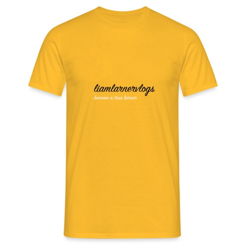 LiamLarnerVlogs - Men's T-Shirt