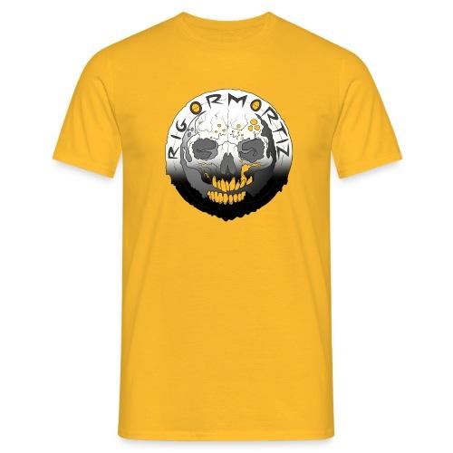 Rigormortiz Black White Design - Men's T-Shirt