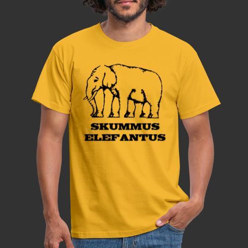 Skummus Elefantus - T-shirt herr