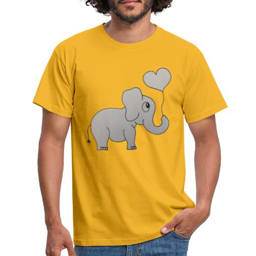 LackyElephant - Männer T-Shirt
