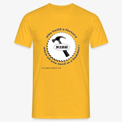 hammer gif - Men's T-Shirt