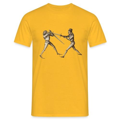 Talhoferfechter frei - Männer T-Shirt