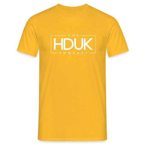 The HDUK Podcast Logo - Men's T-Shirt