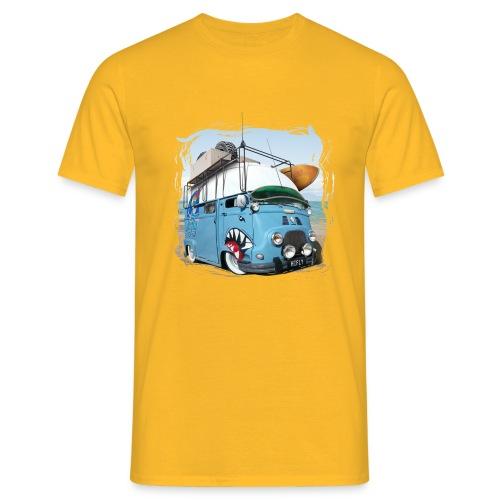 Estafette Van Surf sur la plage - T-shirt Homme
