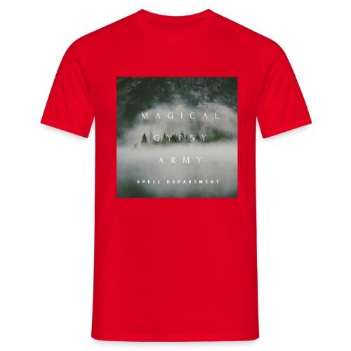 MAGICAL GYPSY ARMY SPELL - Männer T-Shirt