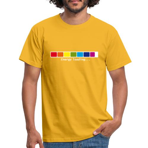 Energie Loading Chakras - Männer T-Shirt