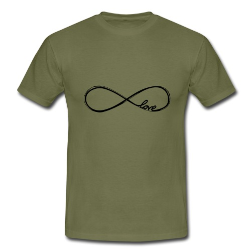 love lemniskate - Männer T-Shirt