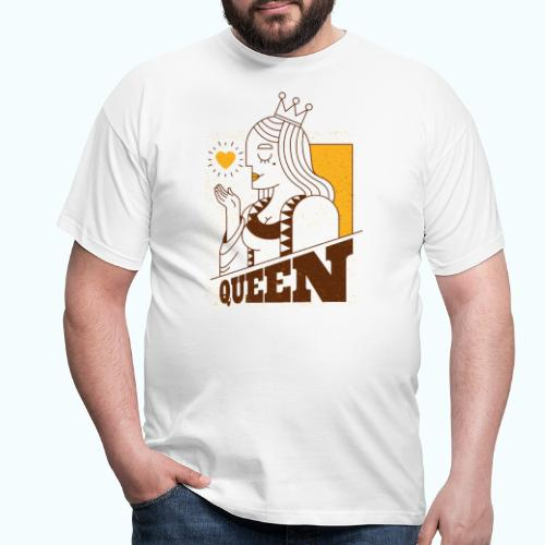 Vintage queen - Men's T-Shirt